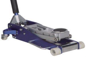 3Ton aluminum floor jack Nylon wheels