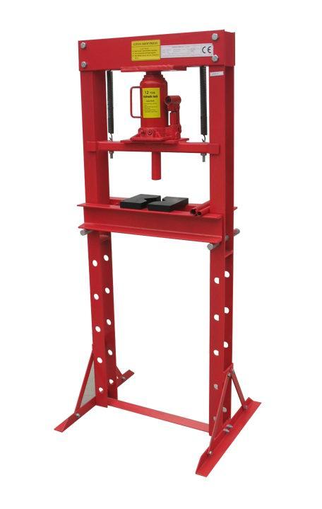 12ton hydraulic shop press
