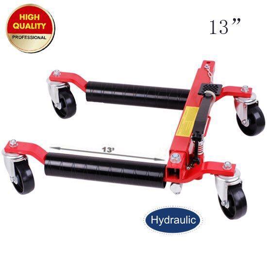 13' hydraulic wheel dolly