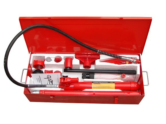 4Ton Hydraulic Portable Power Kits -Iron Box