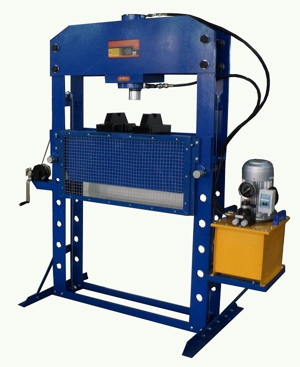 Electric Hydraulic Shop Press