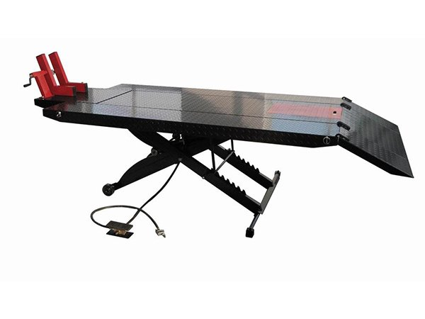 1000lbs Air Motorcycle Lift Table