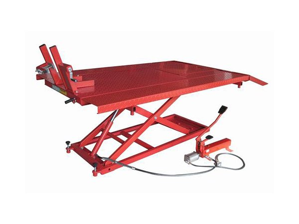 1000lbs Air hydraulic Motorcycle Lift Table