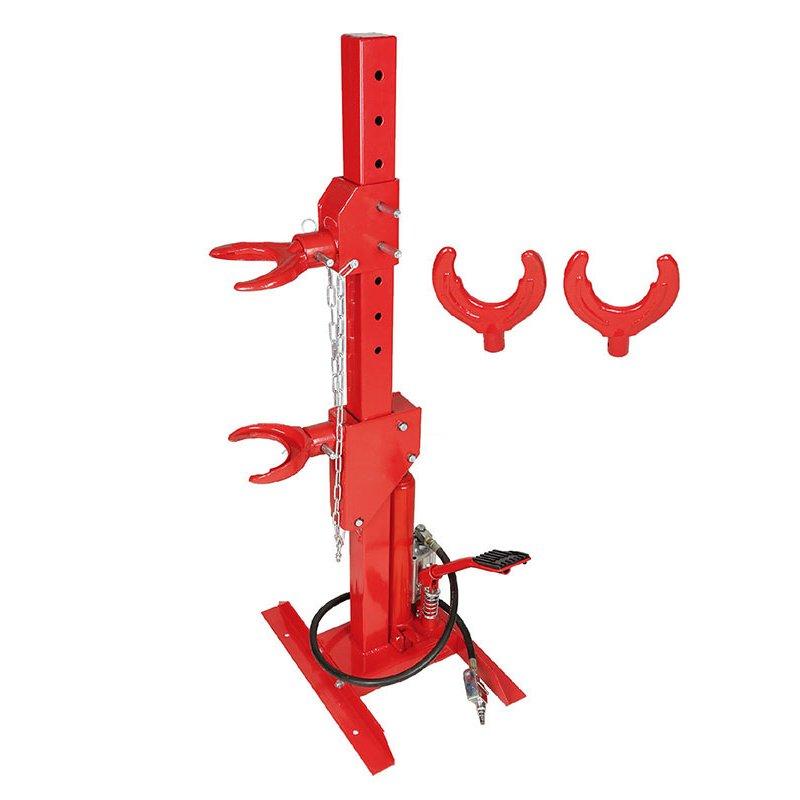 hydraulic spring compressor air