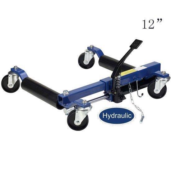 hydraulic vehicle positioning jack 12'inch